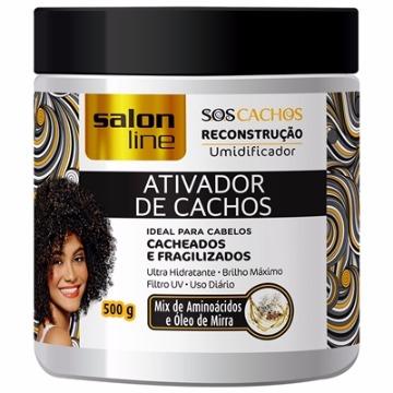 34530 Ativador De Cachos Reconstrução Salon Line 500g