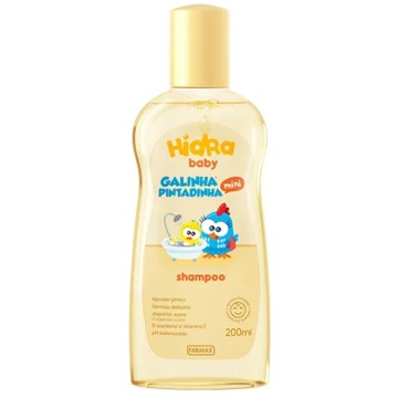 215313 Shampoo Baby Galinha Pintadinha Mini Farmax 200ml