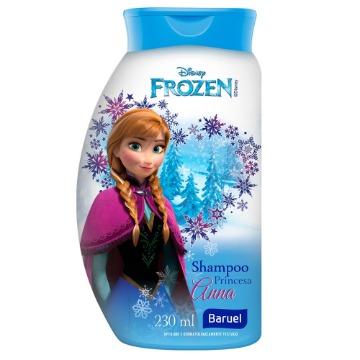 161356 Shampoo Frozen Princesa Anna Baruel 230ml