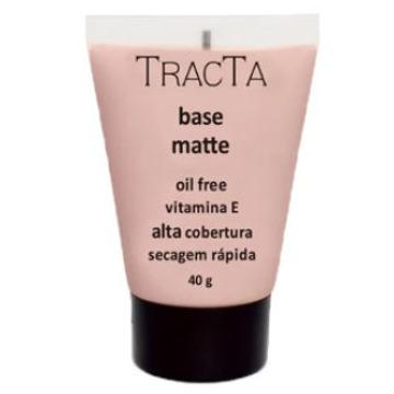 631236 Base Líquida Alta Cobertura Matte Cor 1 Oil Free Tracta 40g
