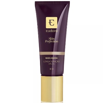 29686 Base Líquida Skin Perfection Bege Claro 1 Eudora 30ml