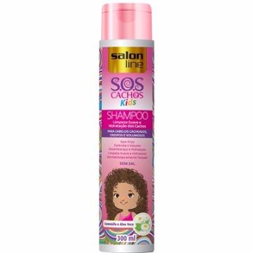 95116 Shampoo S.O.S Cachos Kids Salon Line 300ml