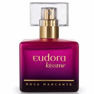 71387 Deo Colônia Kiss Me Rosa Marcante Eudora 50ml