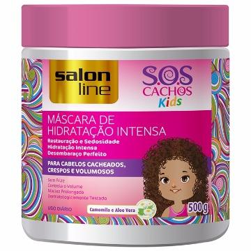 95109 Máscara de Hidratação Intensa S.O.S Cachos Kids Salon Line 500g