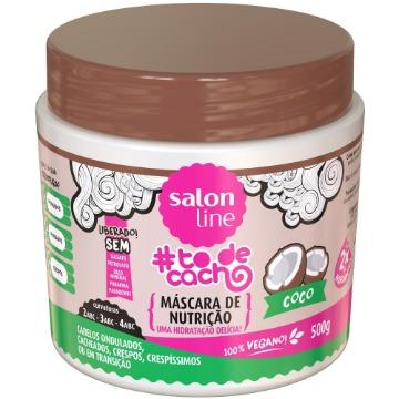 348899 Máscara Nutrição #todecacho Coco Salon Line 500g