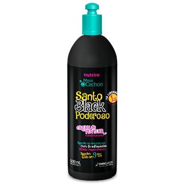 58088 Creme de Pentear Embelleze Meus Cachos Santo Black Poderoso 500ml