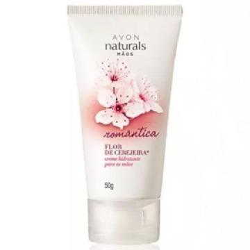 026432 Creme Mãos Naturals Flor de Cerejeira Avon 50g