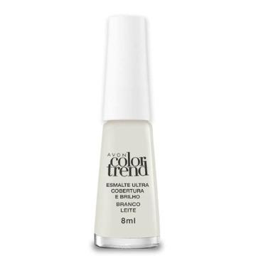514981 Esmalte Colortrend Branco Leite Avon 8ml