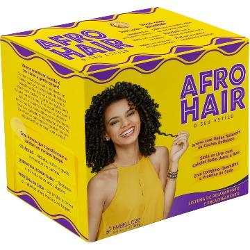 52376 Kit Embelleze AfroHair Relaxamento e Encacheamento