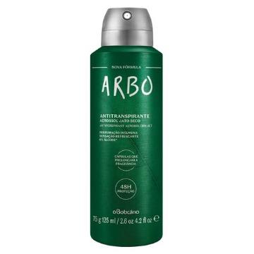 22720 Desodorante Aerossol Arbo Boticário 125ml