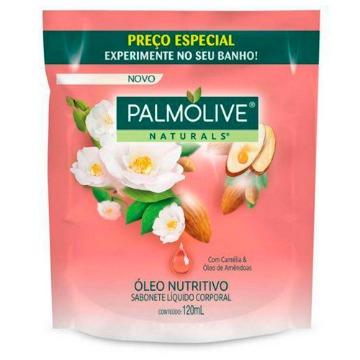 040119 Sabonete Líquido Naturals Óleo Nutritivo Com Camélia & Óleo de Amêndoas Refil Palmolive 120ml