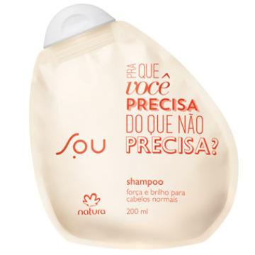 33562 Shampoo Sou Força e Brilho Cabelos Normais Natura 200ml