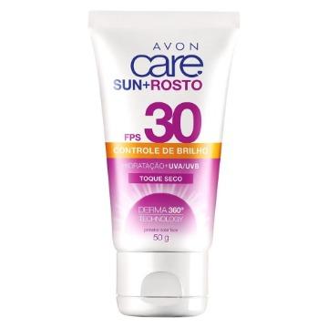 510727 Protetor Solar Facial Avon Care Sun+ FPS 30 50g