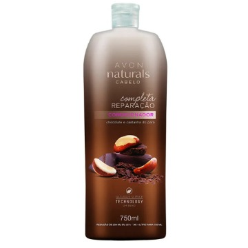 046898 Condicionador Naturals Chocolate e Castanha do Pará e Óleo de Argan 750ml