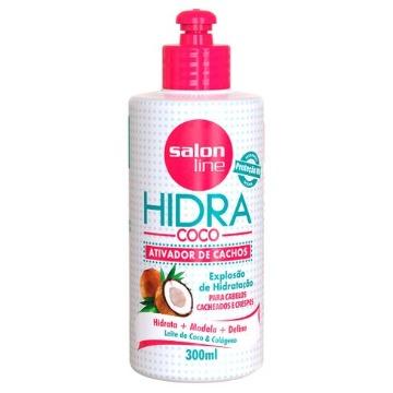 953017 Ativador Cachos Hidra Coco Salon Line 300ml