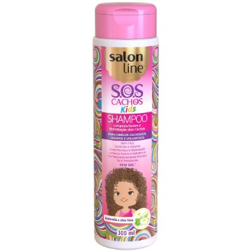 951174 Condicionador S.O.S Cachos Kids Salon Line 300ml