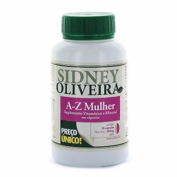 23302 A-z mulher - Sidney Oliveira Rahda 30 cápsulas