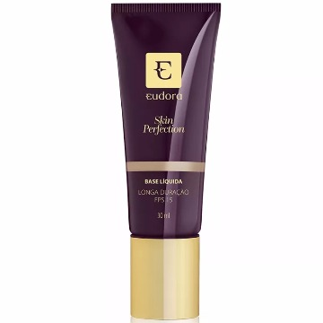 26787 Base Líquida Skin Perfection Bege Escuro 1 Eudora 30ml