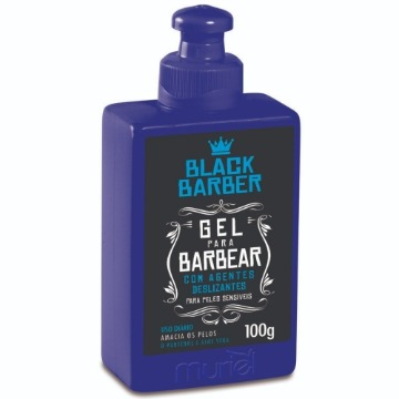 115148 Gel para Barbear Black Barber Muriel 100g