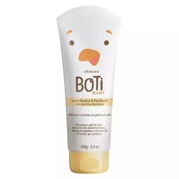 70691 Loção Hidratante de Banho e Pós Banho Boti Baby Boticário 150g