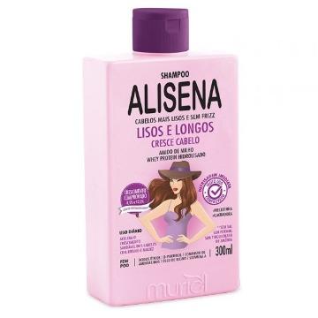 114998 Shampoo Alisena Lisos e Longos Muriel 300ml