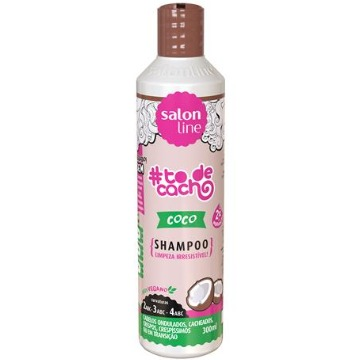348912 Shampoo #todecacho Coco Salon Line 300ml