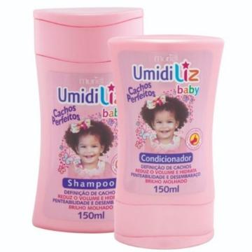 115339 Kit Shampoo e Condicionador Umidiliz Baby Menina Muriel