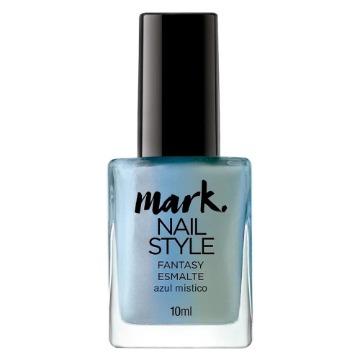 511355 Esmalte Style Fantasy Mark Azul Místico Avon 10ml