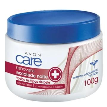 504754 Creme Facial Accolade Care Noite Avon 100g