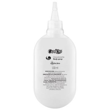18562 Desodorante Spray Capricho Refil Boticário 100ml