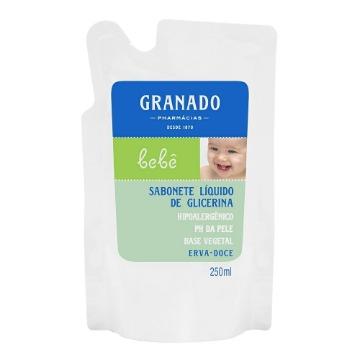 922465 Sabonete líquido Bebê Glicerina Erva Doce Refil Granado 250ml