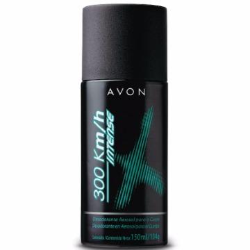 503603 Desodorante Aerossol 300km/h Intense Avon 150ml