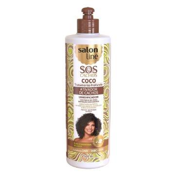 952782 Ativador S.O.S Cachos Coco Salon Line 500ml