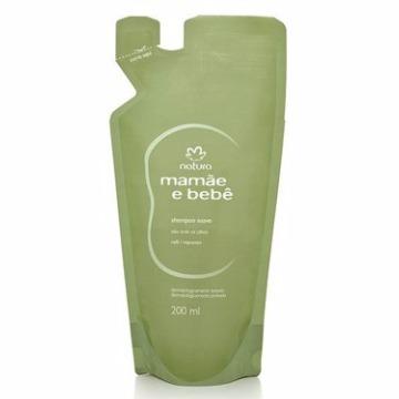 06675 Shampoo Mamãe e Bebê Refil Natura 200ml