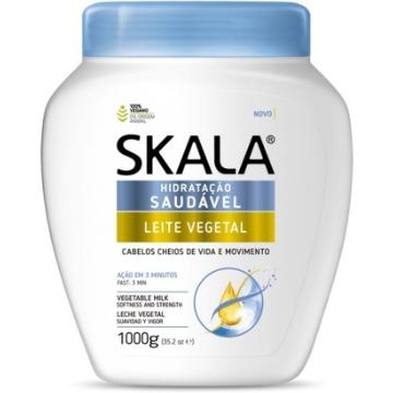 425840 Creme de Tratamento Condicionador Leite Vegetal Skala 1000g