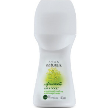 511820 Desodorante Roll-On Erva Doce Naturals Avon 50ml