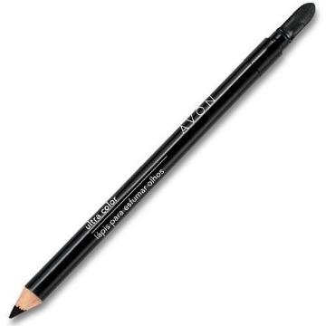 519626 Lápis Delineador Olhos Ultra Color Esfumar Preto Intenso Avon 1.08g