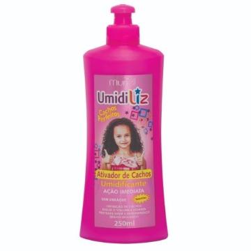 112628 Ativador de Cachos Umidificante Umidiliz Kids Cachos Perfeitos Muriel 250ml