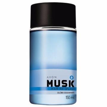 501768 Colônia Desodorante Musk Marine Avon 150ml