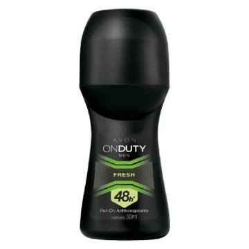 411313 Desodorante Roll-On On Duty Men Fresh Avon 50ml