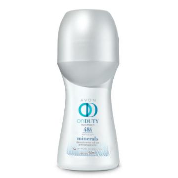 507618 Desodorante Roll-On On Duty Minerals Avon 50ml