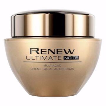 515882 Creme Facial Renew Ultimate Anti-Idade 45 Noite Multiação Avon 50g