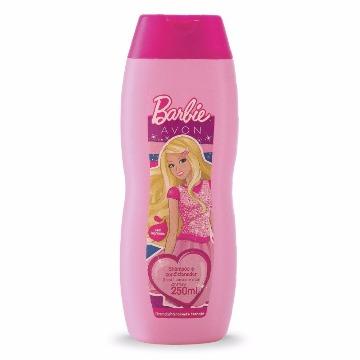 517050 Shampoo e Condicionador Barbie Avon 250ml