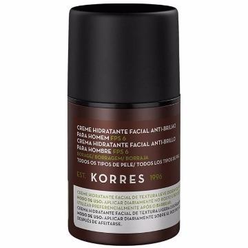 460809 Creme Hidratante Facial Antibrilho para Homem FPS 6 Todos os Tipos de Pele Korres 45g