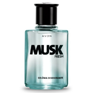 519946 Colônia Musk Fresh Avon 90ml