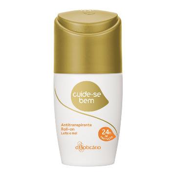 20186 Desodorante Roll-On Cuide-Se-Bem Leite e Mel Boticário 55ml