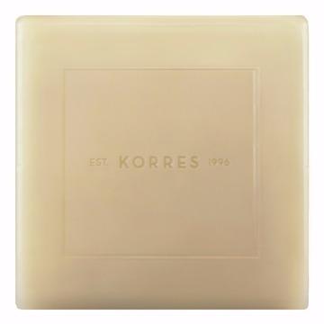 460718 Sabonete Barra Limpeza Facial 1 Unidade Proteínas do Leite Todos os Tipos de Pele Korres 80g