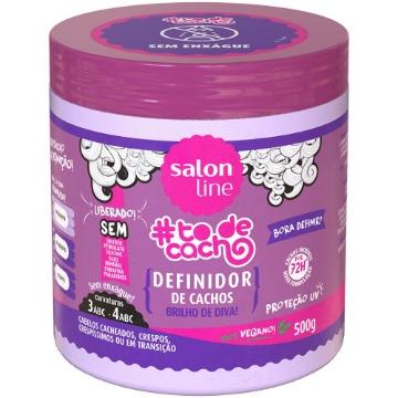 951044 Definidor de Cachos #todecacho Bora Definir Brilho de Diva Salon Line 500g