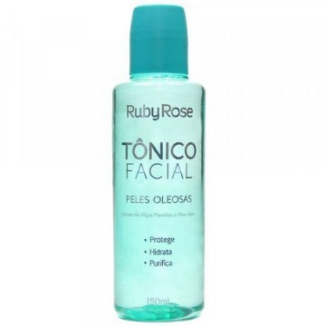 119490 Tônico Facial Peles Oleosas Ruby Rose 150ml