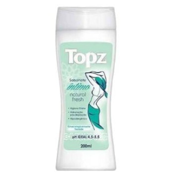 462252 Sabonete Líquido Íntimo Topz Natural Fresh 200ml
